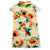 Cap Sleeve Signature Cotton Floral Kid's Cheongsam Dress