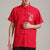 Dragon Embroidery Short Sleeve Signature Cotton Chinese Kung Fu Shirt