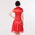 Phoenix Applique Tulle Skirt Knee Length Cheongsam Chinese Dress