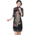 3/4 Sleeve Lace Cheongsam Chinese Dress with Phoenix Sequins