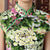 Traditional Floral Cotton Knee Length Cheongsam Chinese Dress