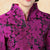 Floral Taffeta Chinese Jacket Mother's Coat with Butterfly Button
