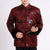 Dragons Pattern Traditional Chinese Wadded Jacket