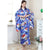 Lady Portrait Pattern Traditional Japanese Kimono
