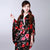 Women's Roses Pattern Traditional Japanese Kimono