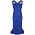 Square Neck Knee Length Mermaid Falbala Pencil Dress