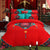 Auspicious Pattern 4-Piece Chinese Bedding Set