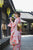 Sakura Pattern Formal Wear Japanese Kimono Furisode