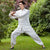 Auspicious Pattern Silk Blend Traditional Chinese Tai Chi Suit