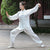 Auspicious Pattern Silk Blend Women's Traditional Chinese Tai Chi Suit