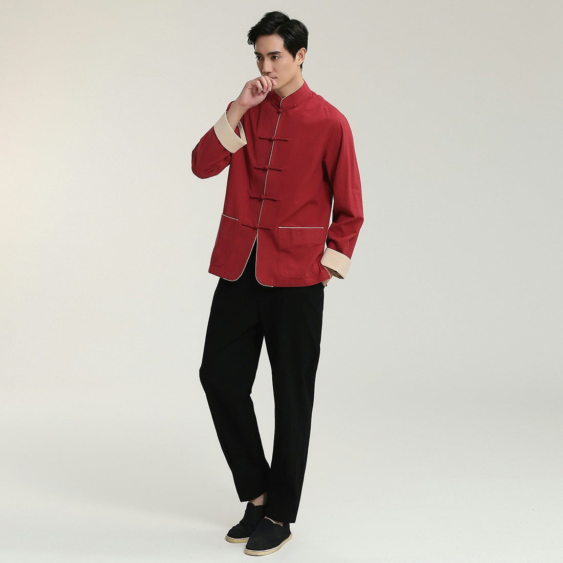 Linen Traditional Chinese Kung Fu Suit – IDREAMMART