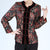 Round Neck Floral Brocade Tradtional Chinese Jacket