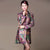 Silk & Linen Floral Chinese Style Women's Wind Coat