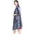 3/4 Sleeve Chinese Style Wind Coat Shawl with Flower Applique