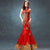Phoenix Appliques Halter Top Full Length Mermaid Chinese Wedding Dress