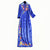 Floral Embroidery Long Sleeve Cheongsam Chinese Style Evening Dress