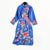 Floral Embroidery Long Sleeve Cheongsam Herve Leger Dress