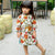 Long Sleeve Signature Cotton Floral Kid's Cheongsam Dress