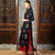 Long Sleeve Mandarin Collar Brocade Chinese Wind Coat