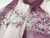 Real Silk Oriental Floral Embroidery Scarf Shawl