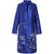 Floral Emboidery V Neck Long Chinese Style Mother's Wind Coat