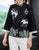 Floral Emboidery 3/4 Sleeve Traditional Women's Chinese Jacket