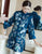 Mandarin Sleeve Floral Embroidery Taffeta Chinese Wind Coat Han Costume