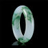 Lux Genuine Burmese Icy Jade Bangle Bracelet