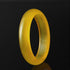Lux Genuine Yellow Agate Bangle Bracelet