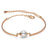 Rose Gold Fresh Water Pearl Bracelet