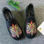 Flamingo Embroidery Traditional Chinese Causal Shoes Loafers