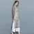 Illusion Sleeve Cheongsam with Loose Pants Chinese Costume 2-piece Suit