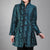 Long Sleeve V Neck Floral Embroidery Chinese Style Wind Coat