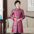 Mandarin Collar Brocade Silk Chinese Style Wind Coat