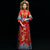 Mandarin Sleeve Dragon & Phoenix Embroidery Traditional Chinese Wedding Suit