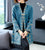 Floral Embroidery Chinese Style Knit Mother Coat Long Shawl