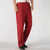 Signature Cotton Chinese Long Pants with Frog Button Leg Opening