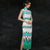 Cap Sleeve Cheongsam Qipao Chinese Style Summer Dress