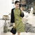 Puff Sleeve Knee Length Modern Cheongsam Chinese Dress
