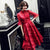 Puff Sleeve Cheongsam Top Floral Tulle Chinese Wedding Party Dress