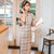 Plaids & Checks Pattern Modern Cheongsam Knee Length Chinese Dress