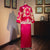 Dragon & Auspicious Embroidery Full Length Retro Chinese Groom Suit