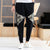 100% Cotton Chinese Style Ankle Banded Pants Ninth Pants