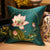 Lotus Embroidery Brocade Traditional Chinese Cushion Covers