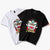 Lion Face Embroidery 100% Cotton Short Sleeve Unisex T-shirt