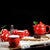 Double Happiness Paint Porcelain Kung Fu Tea Set Cups & Teapot 7 Pieces