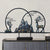 Deer & Mountain Designed Oriental Home Decor