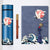 Crane Pattern Chinese Style Smart Thermos Notebook Ball Pen Gift Box