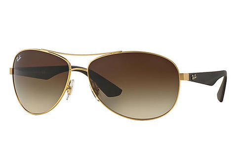 Ray-Ban Aviator Unisex Sunglasses - 3457-112/13 -59-13-3N - 24kart
