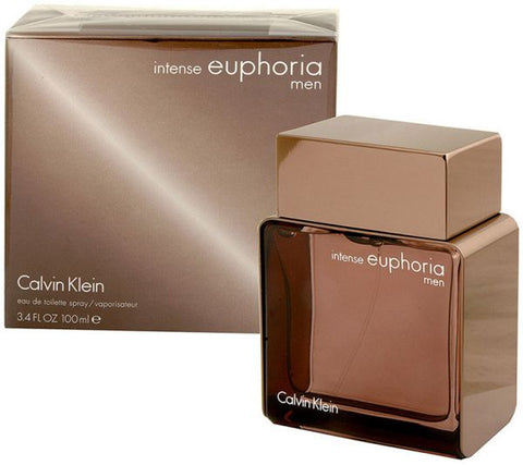 Euphoria Intense by Calvin Klein for Men - Eau de Toilette, 100ml - 24kart